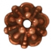 Bead Cap Tiffany 5mm Antique Copper